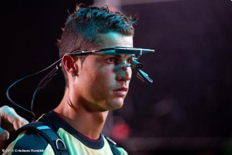 The worlds most expensive footballer wearing the Dikablis eye tracker!